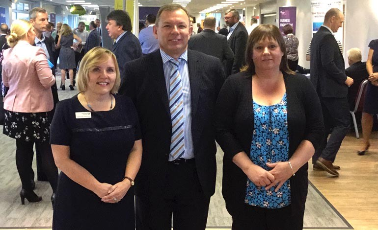 Exchange event showcases a wealth of business support