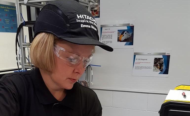 Emma becomes landmark employee at Hitachi