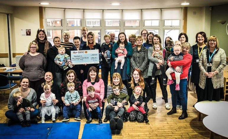 Hays Travel helps secure foundation of vital local project