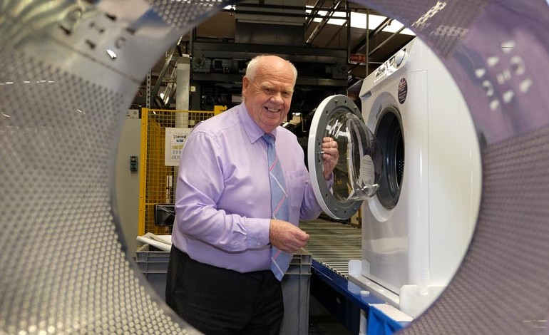 First British washing machines for decades roll off Aycliffe production line