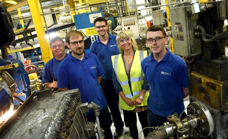 Aycliffe manufacturer hails positive impact of apprenticeship training