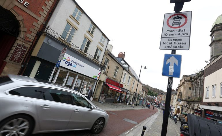 Tackling bus lane misuse in County Durham