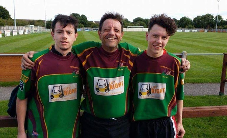 Tributes paid after Aycliffe dad dies on rugby pitch