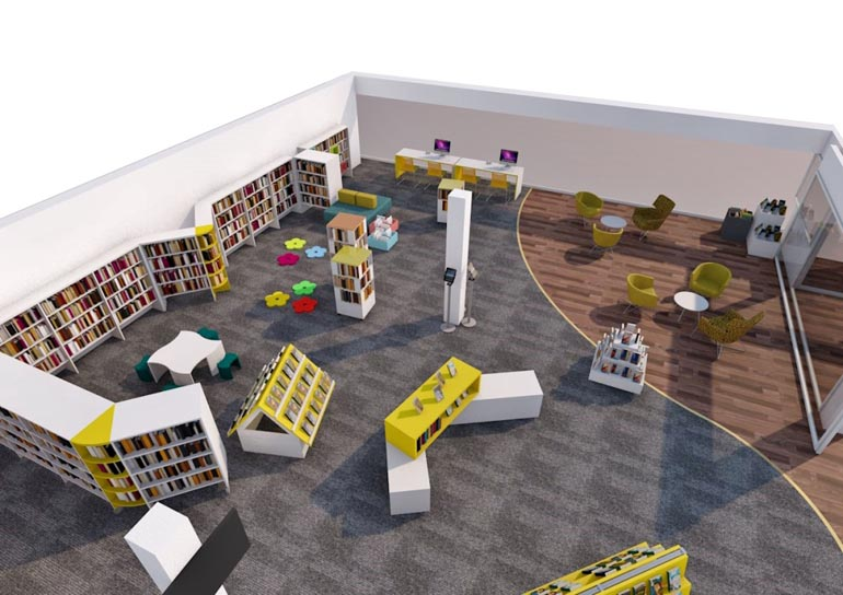 aycliffe-library-birdseye-view-of-the-new-look-library