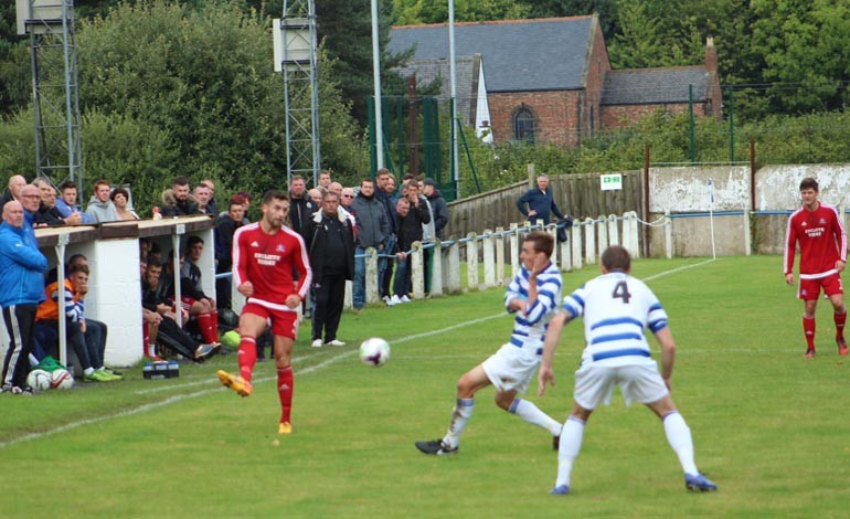 Aycliffe draw at Chester-le-Street