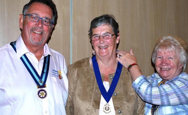 Top Rotarian praises Aycliffe's 'vibrant' club