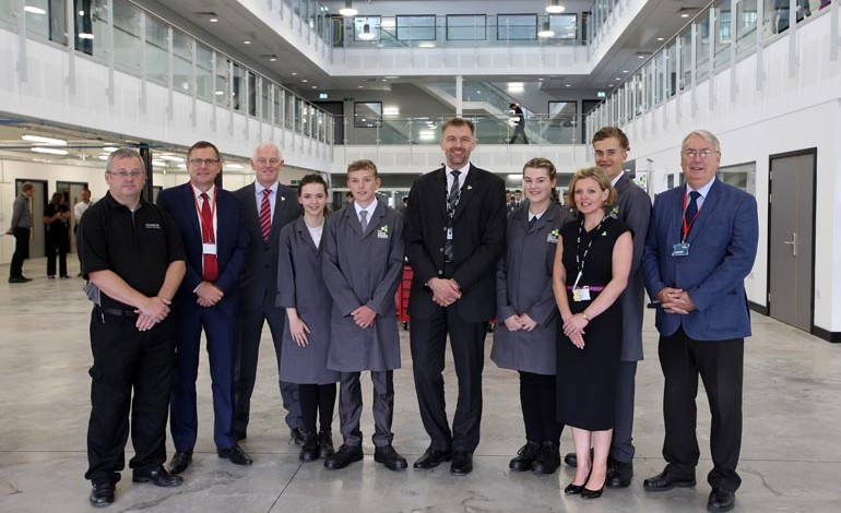 £10m Aycliffe UTC is officially opened