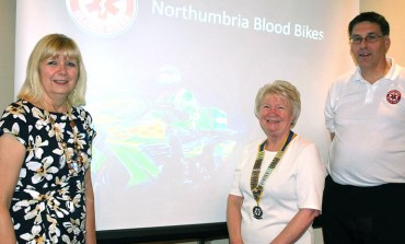 Aycliffe Rotary praise for 'fantastic' Blood Bikes volunteers