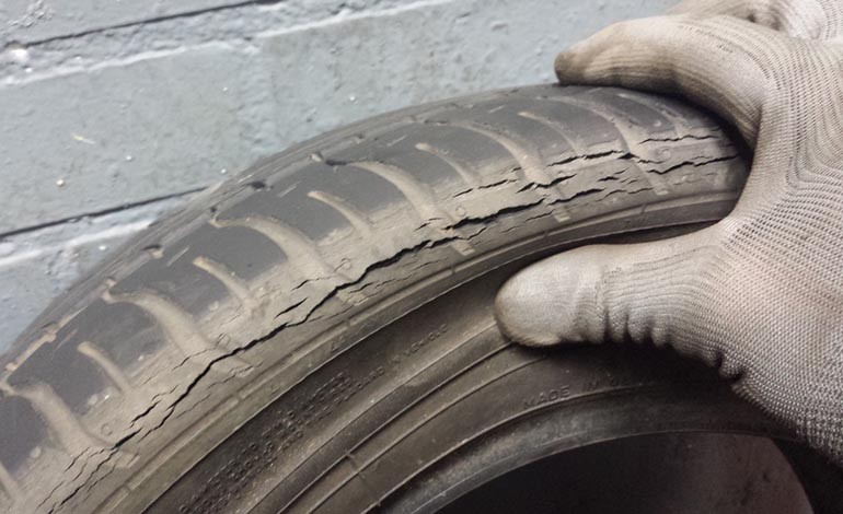 Warning over safety of part worn tyres