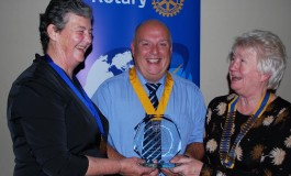 Highest honour for Aycliffe Rotary Club