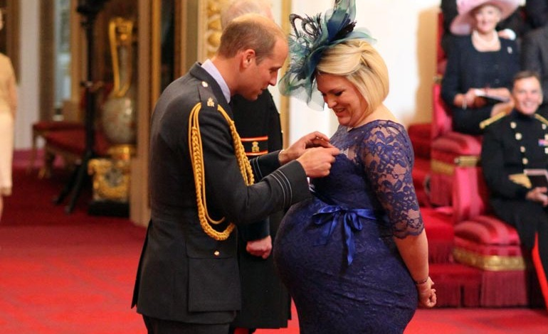 Crafter's boss gets MBE from Prince William