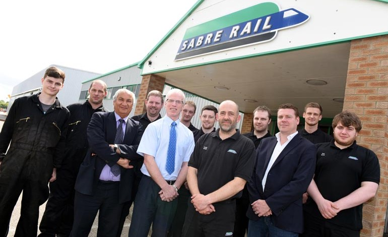 Aycliffe firm Sabre Rail to create eight new roles with expansion