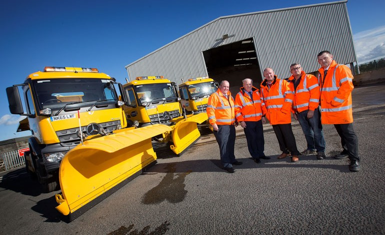 42,000 tonnes of salt on standby for winter!