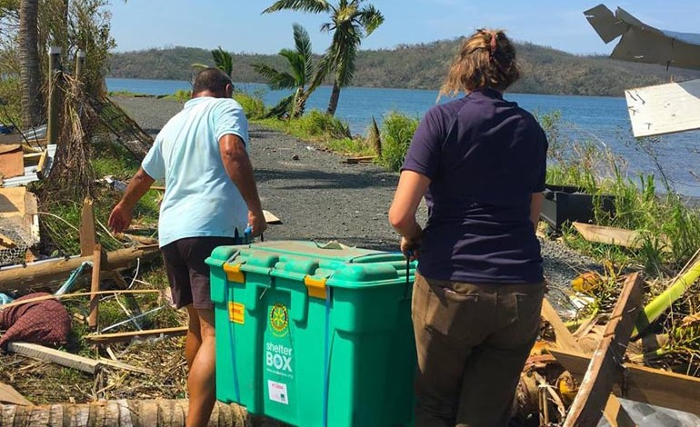 Aycliffe aid for Haiti hurricane victims