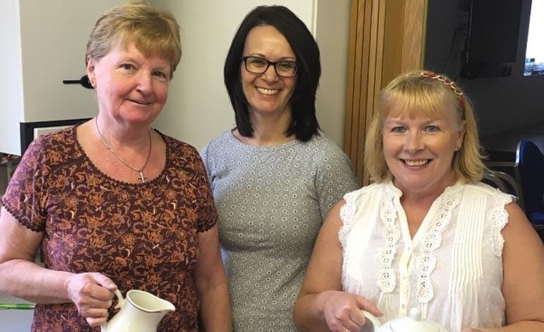 No break in efforts as successful coffee morning raises £1,500+