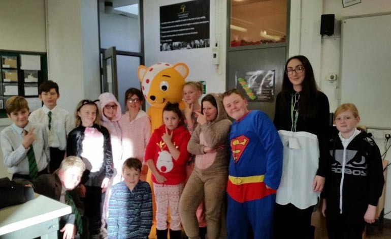 Pictures: Students raise £500+ for Children In Need
