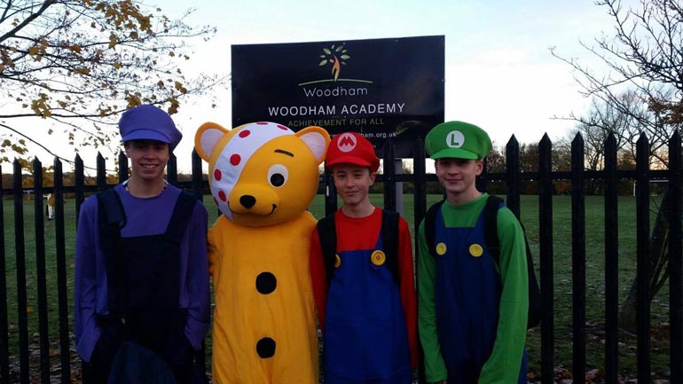woodham-academy-children-in-need-2