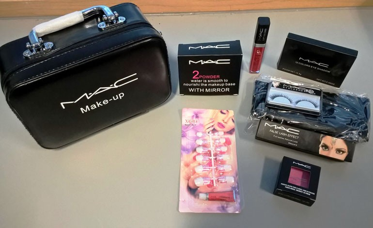 Warning over counterfeit cosmetics