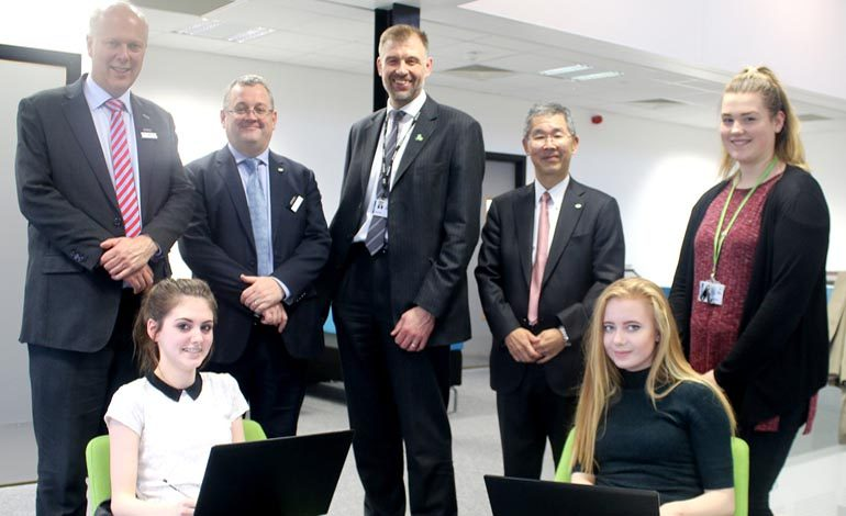 Transport Secretary visits Aycliffe UTC