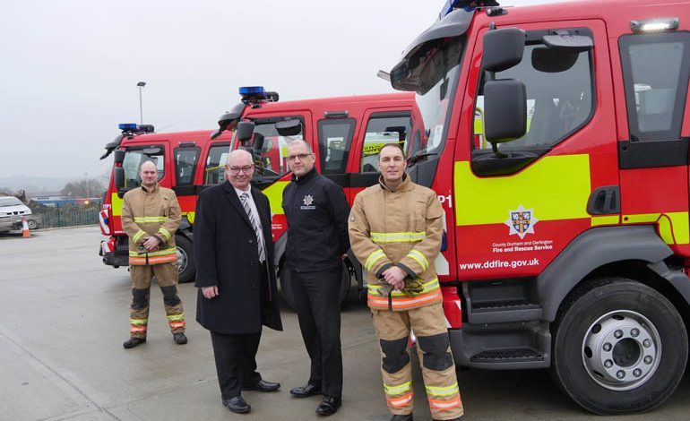 Aycliffe's new fire appliance is ready for action