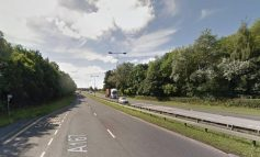 Two-car collision on A167 at Aycliffe