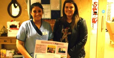 Aycliffe Care Home helps support Fiji expedition