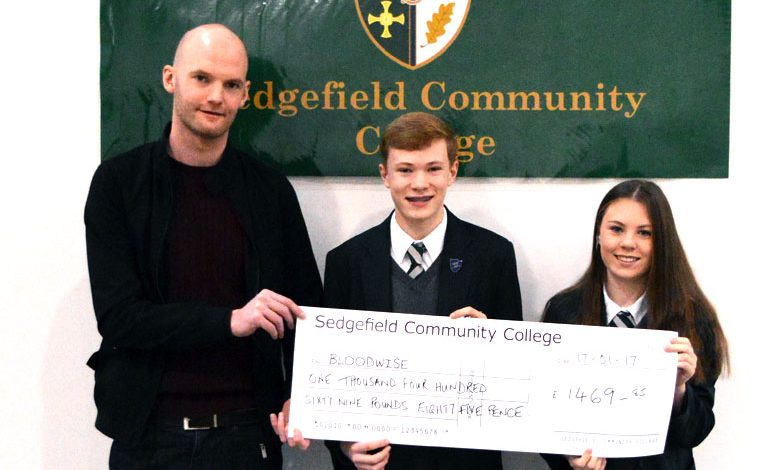 School donation takes charity fundraiser's total past £25k