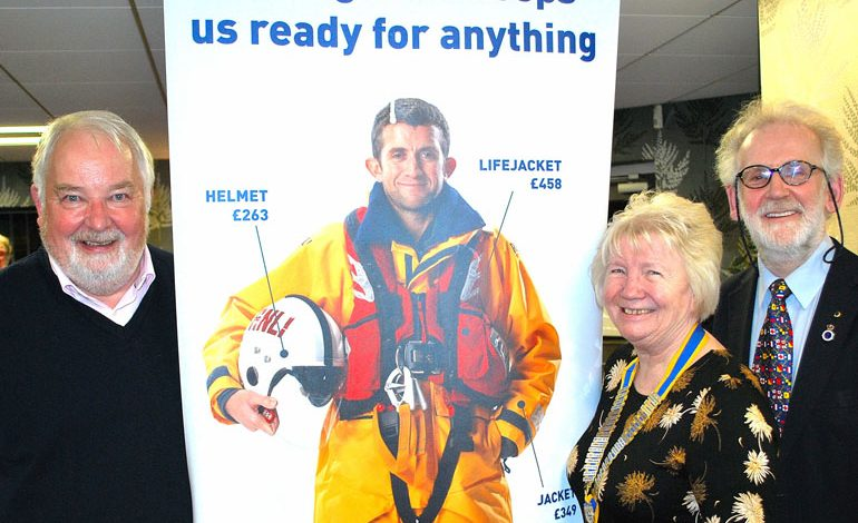 'Saving lives at sea' talk by Durham fireball survivor