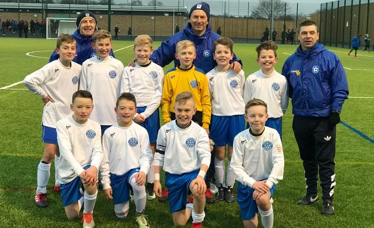 Aycliffe Juniors in District team win