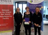 Hitachi signs up to North East Better Health at Work Award