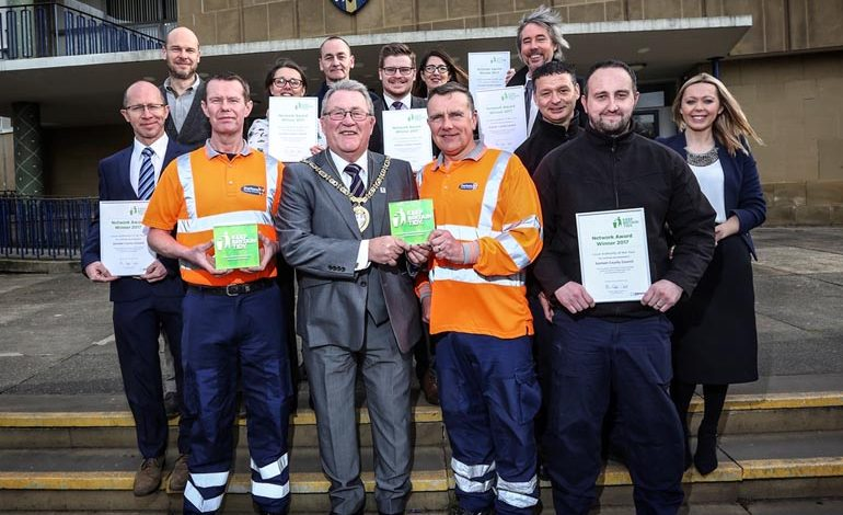 Staff recognised for Keep Britain Tidy success
