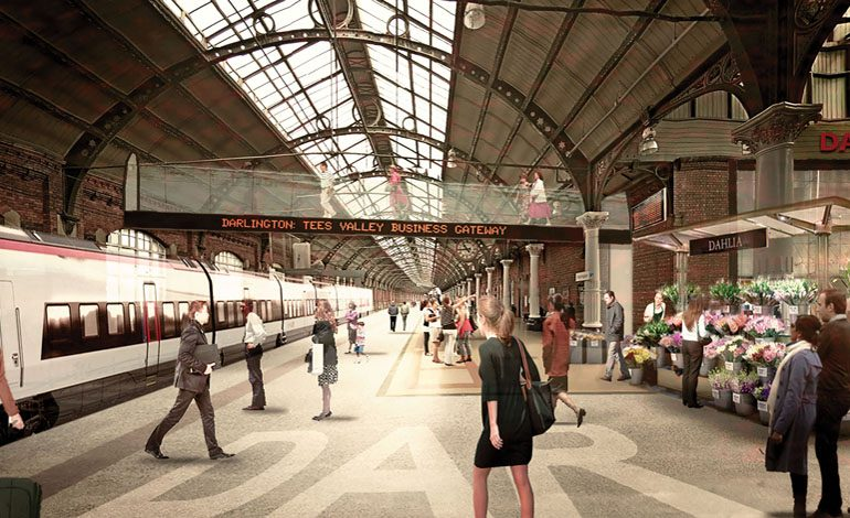 Darlington's £130m plan to become rail hub for region