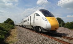 Aycliffe-built Hitachi train completes maiden journey – carriages due to enter service this year