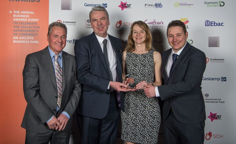 PWS named Aycliffe Company of the Year