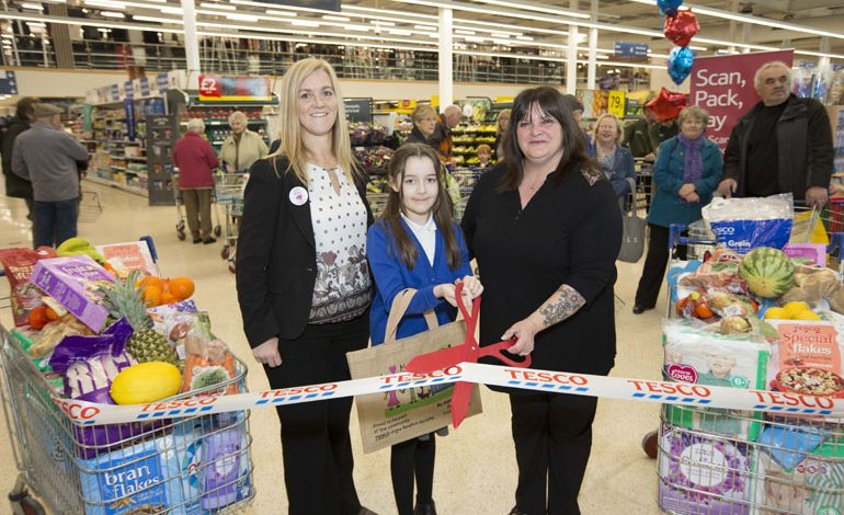 Tesco welcomes Burtons, Dorothy Perkins, Evans and Wallis to Aycliffe store