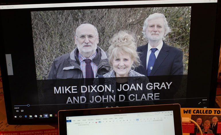 Labour councillors launch election campaign with short film