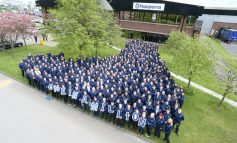 Husqvarna celebrates production of one million robotic lawnmowers in Aycliffe