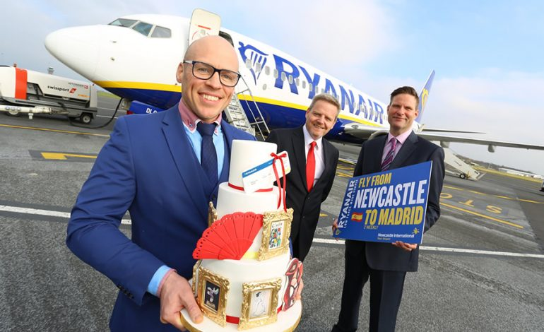 Ryanair's new Newcastle summer routes take off