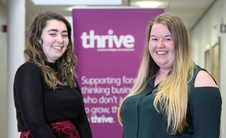 Thrive Marketing employs apprentice for latest marketing role