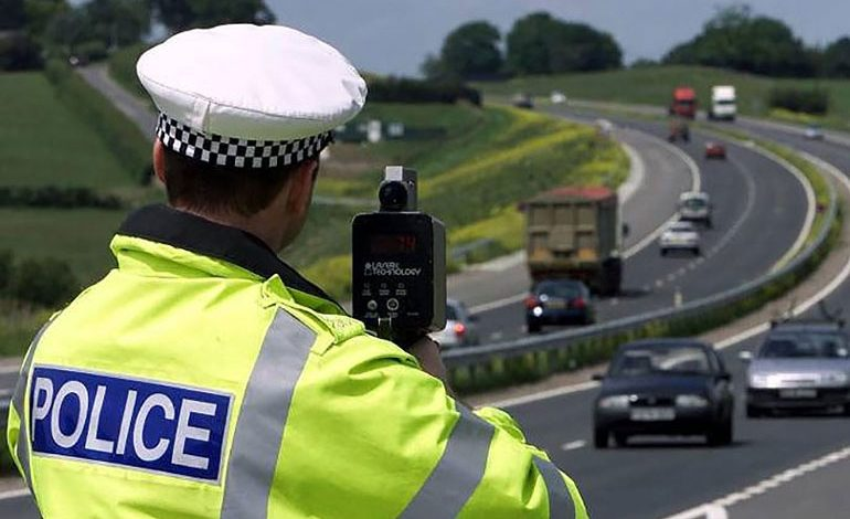 80 drivers a day caught speeding in week-long crackdown