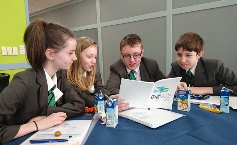 Four Aycliffe students to pitch business idea to 'Dragons'