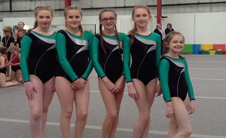 Aycliffe students in regional gymnastics competition