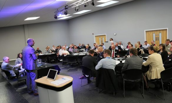 Pictures: Dozens of companies attend Aycliffe Business Park news event