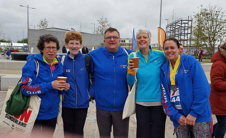 Aycliffe runners compete in Sunderland Festival