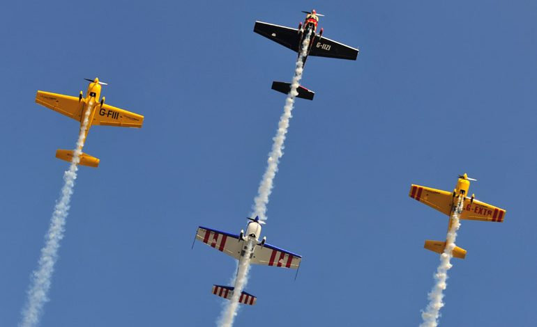 Spectacular air show returns to Durham Tees Valley Airport