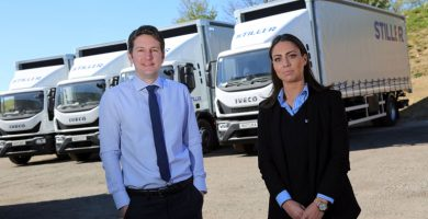 Distribution firm Stiller invests £280k in new ultra-safe trucks