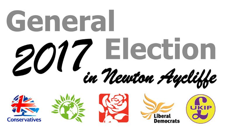 Five candidates for Sedgefield Constituency in General Election