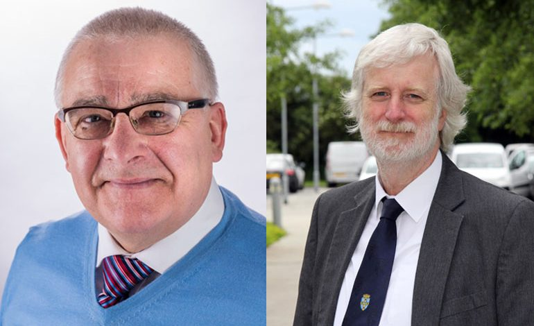 Elected County councillors thank Aycliffe voters