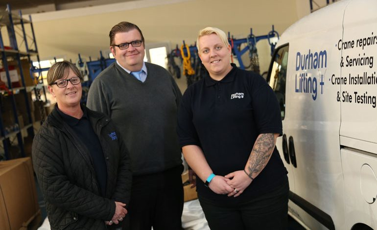 Durham Lifting enjoys 30% growth since Aycliffe expansion