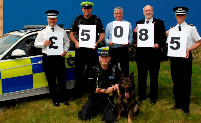 Police Interceptors calendars raise thousands for charities